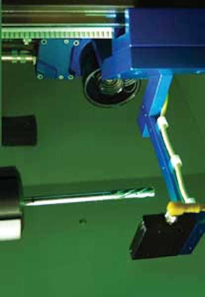 Vision system makes predictive maintenance of machine tools