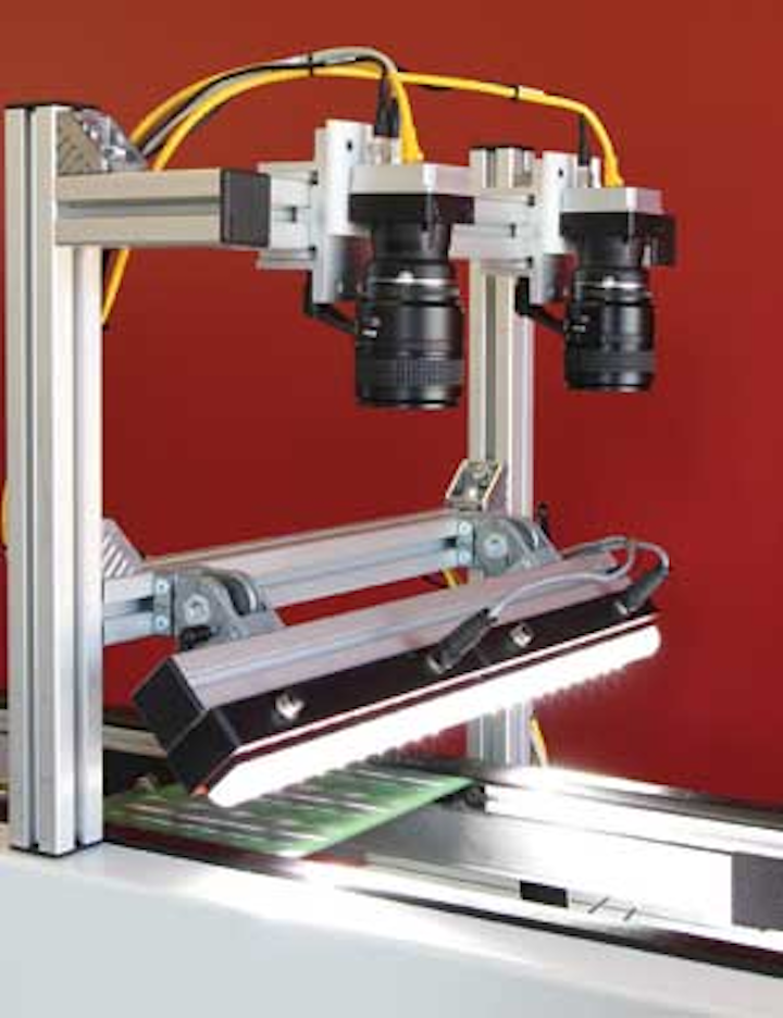 Modular vision system eases printed circuit board