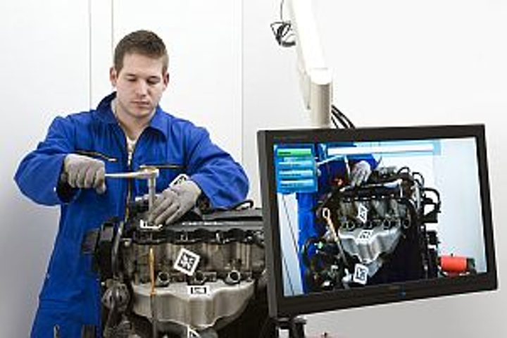 FKIE remote imaging system for equipment repair