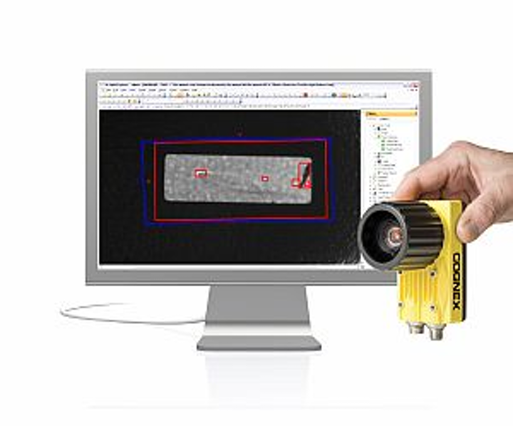 Latest Cognex In-Sight software simultaneously inspects