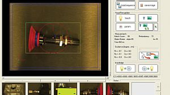 MotoMan Robotics Division MotoSight 3D CortexVision vision system