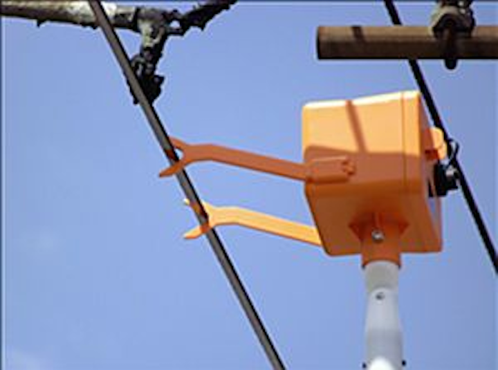 Camera captures electrical wiring images