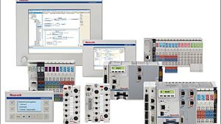 Bosch Rexroth IndraLogic XLC programmable logical controller