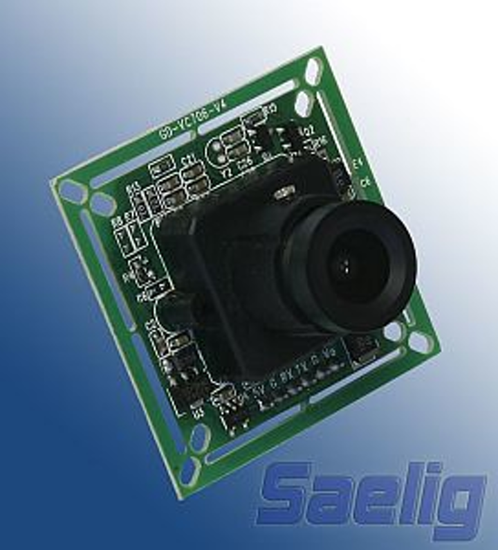 Saelig Company C429-RS232 video camera module