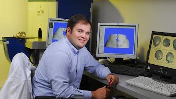 Imaging algorithm monitors bone growth