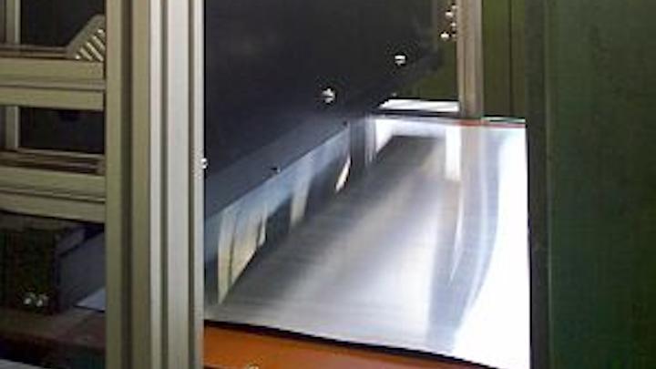 Linescan cameras ensure metal-sheet quality