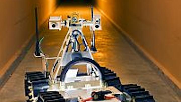 Vision guides Sandia service robots down into mines