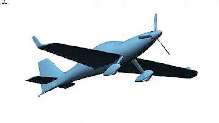 Aircraft development is optimized via white-light scanning