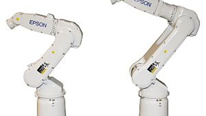 EPSON S5-Series six-axis robots