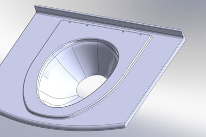 Aircraft Technologies, which manufactures tiolets for corporate jets, has used a laser scanning system from NVision to model its latest toilet design