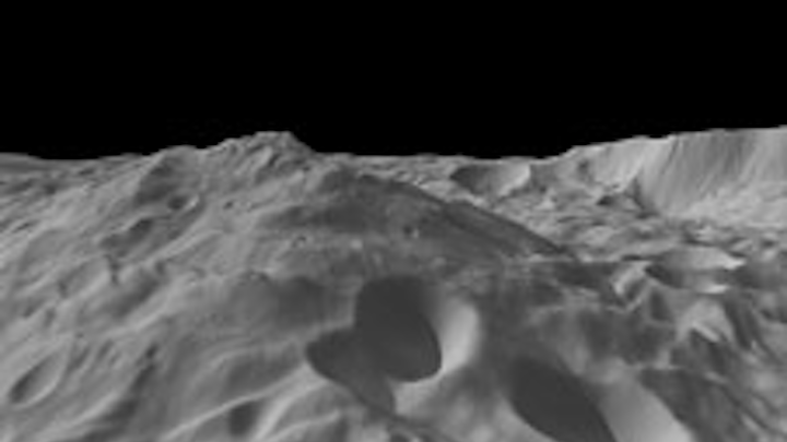 Dawn spacecraft captures image of asteroid with mountain bigger than Everest - Image credit: NASA/JPL-Caltech/UCLA/MPS/DLR/IDA/PSI