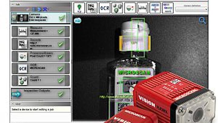 Microscan AutoVISION machine-vision software