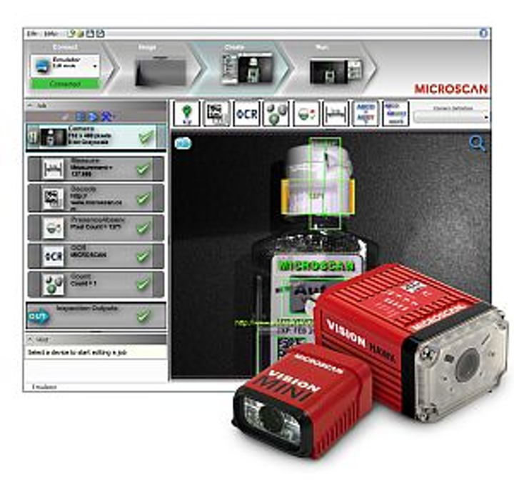 Microscan AutoVISION machine-vision software