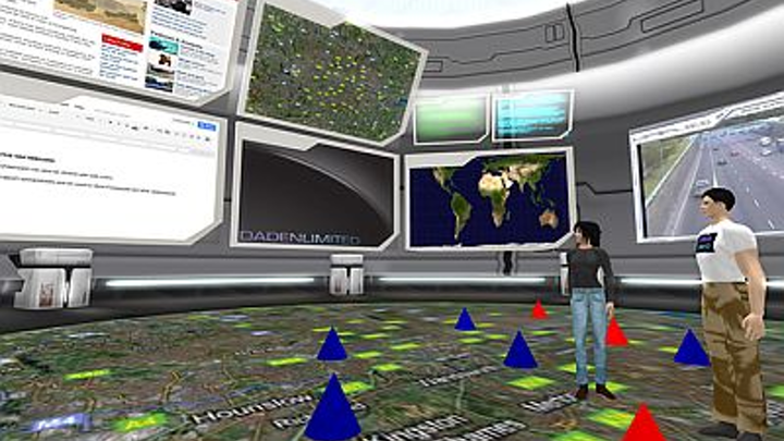 BAE Systems and Daden partner to develop an immersive 3-D data visualization system
