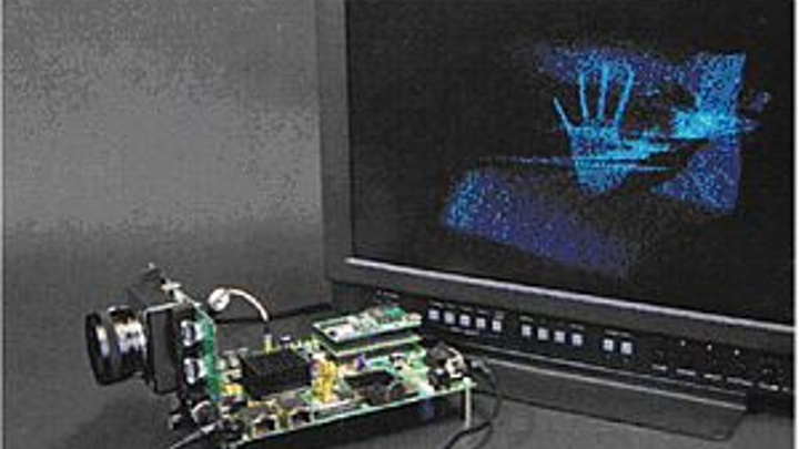 Vempire time-of-flight based camera system developed by Fraunhofer Institute for Integrated Circuits (IIS) captures 3-D images