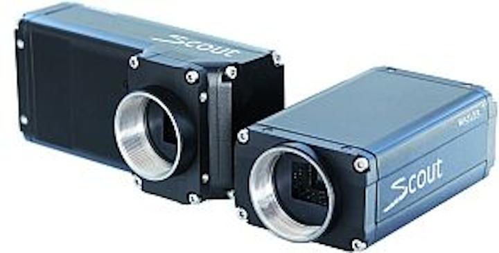 Basler scout series scA1600-28 cameras