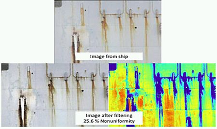 Cameras check ships' coatings with AFTCAT software