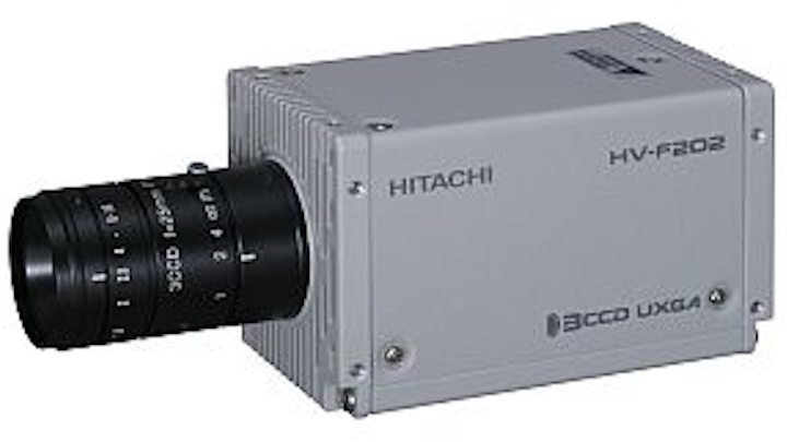 Hitachi Kokusai HV-F202CL and HV-F202GV cameras