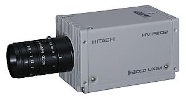 Hitachi Kokusai HV-F202CL and HV-F202GV cameras