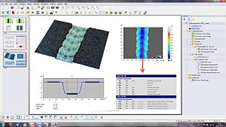 ConfoMap software from Digtal Surf details surface metrology on Carl Zeiss scopes
