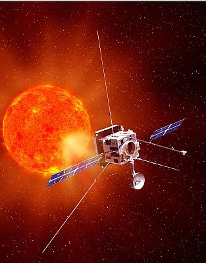 SoloHI instrument, an optical telescope under development at the Naval Research Laboratory, will be launched as part of a European Space Agency Solar Orbiter mission to study the sun. Photo: NASA