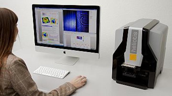 Heliotis optical profilers integrate MountainsMap imaging topography surface metrology software from Digital Surf
