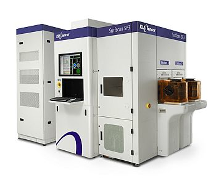 KLA-Tencor Surfscan SP3 unpatterned wafer inspection system