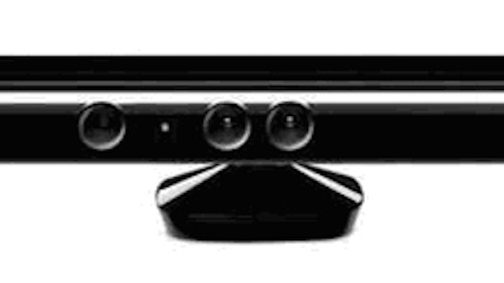 Microsoft Kinect camera is used to develop 3-D models