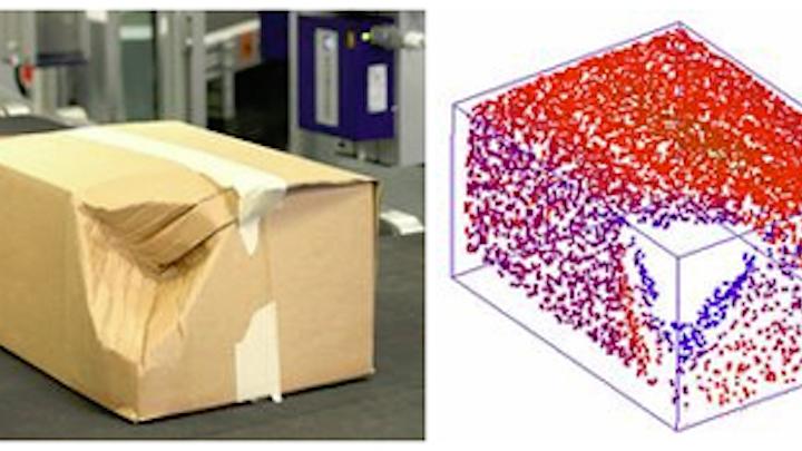 Laser-based volume measurement system