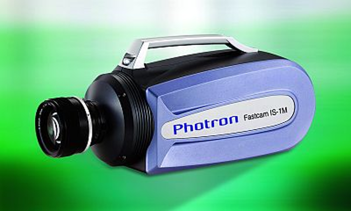 Photron's high-speed Fastcam IS-1M camera is capable of capturing images at one million frames per second.