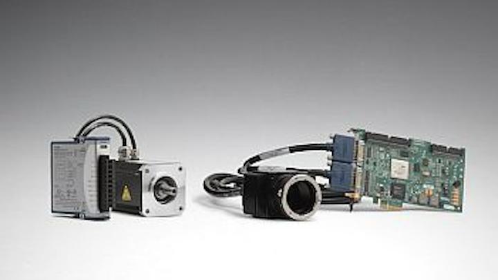NI PCIe-1473R frame grabber and NI 9502 motion drive module