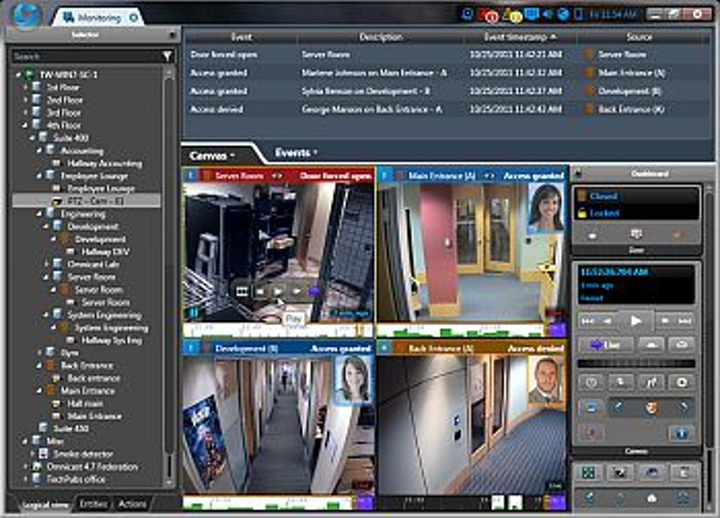 Scallop Imaging's D7-180 digital cameras have been integrated with Genetec's Security Center software platform
