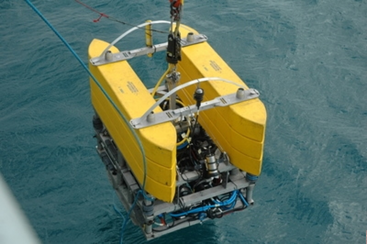 Marine robot captures images of wrecks