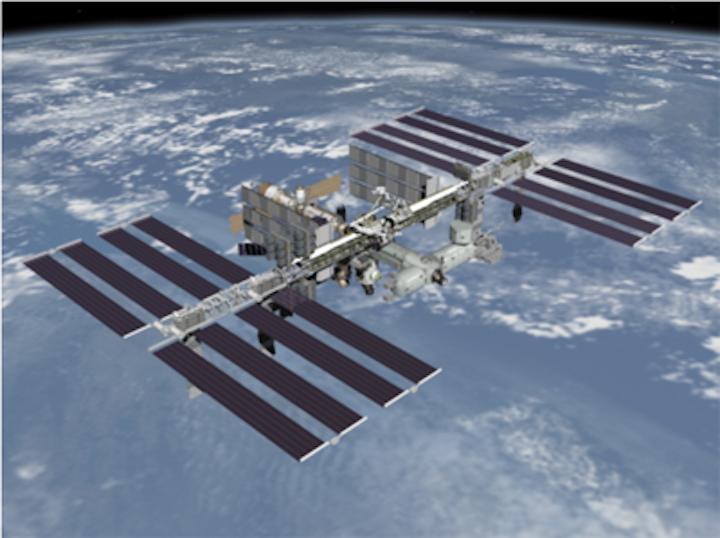 Imaging sensors launched into space