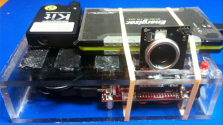How to build your own 3-D camera