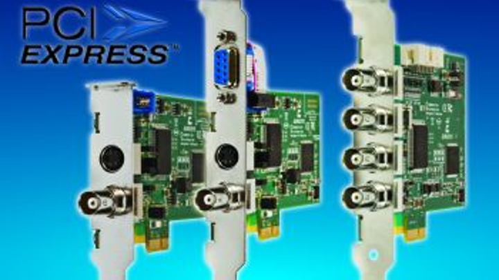 PCIe versions of image acquisition boards from Euresys are interchangeable with PCI equivalents