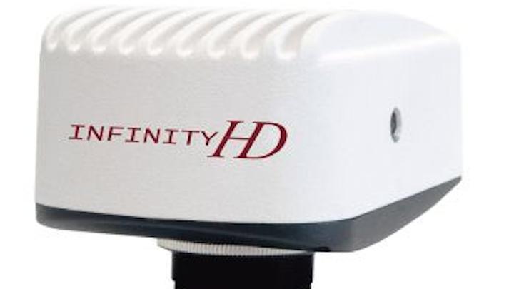 Lumenera's INFINITYHD color camera streams live microscopy video