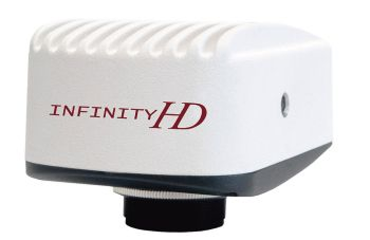 Lumenera's INFINITYHD color camera streams live microscopy video