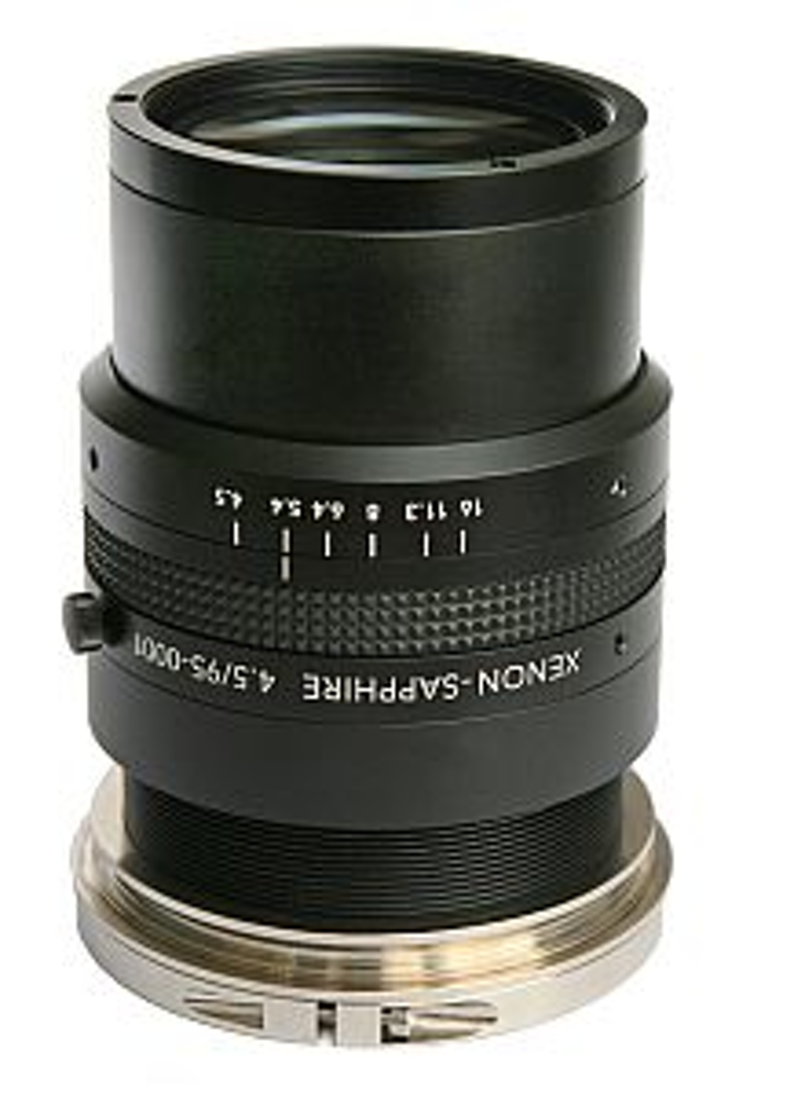 Schneider-Kreuznach xenon-sapphire lenses