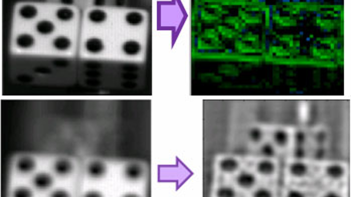 Image sensors detect depth data