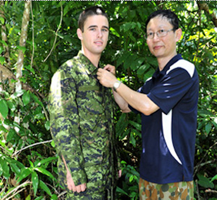 Multispectral imagers measure performance of camouflage