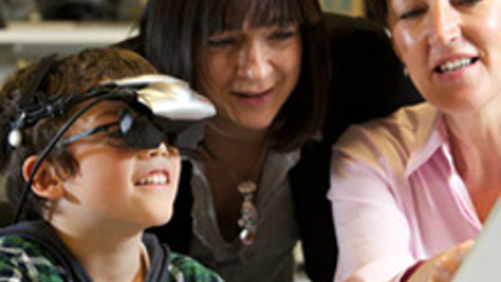 Gaming technology helps children with lazy eye