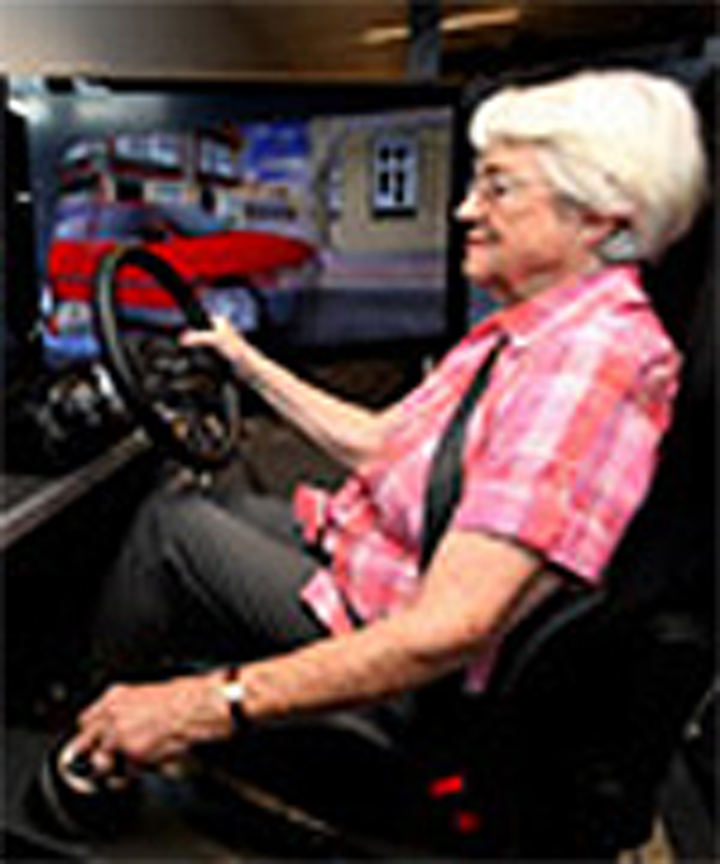 Research car helps researchers study habits of older drivers