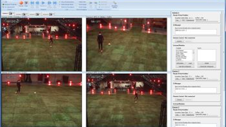 NorPix StreamPix5 is compatible with Vicon Blad motion capture software