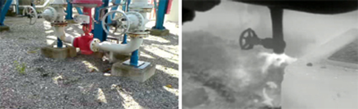 Thermal imager spots the leaks in Swedish LDPE plant