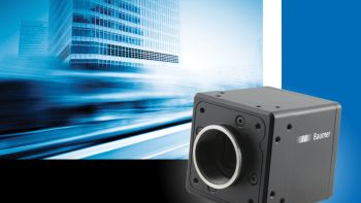 Baumer HXG cameras combine global shutter sensors and dual GigE interfaces