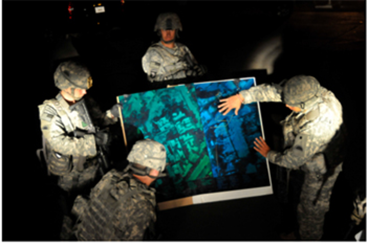 3-D holograms guide soldiers in battle