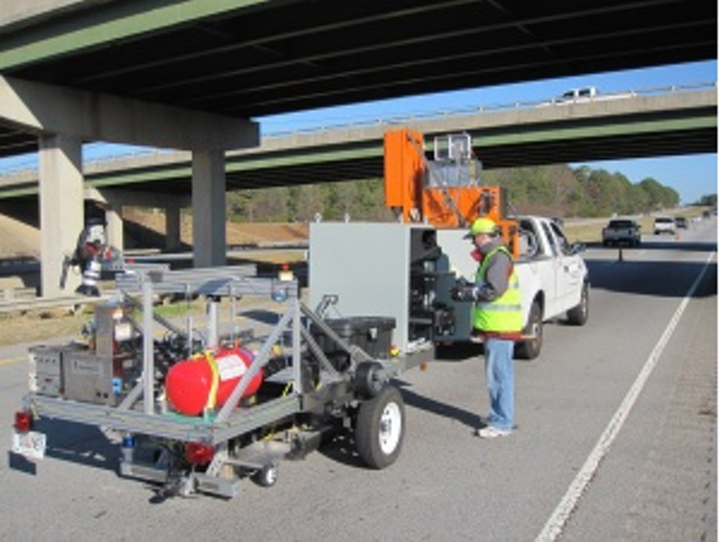 Vision system helps fill holes in the road