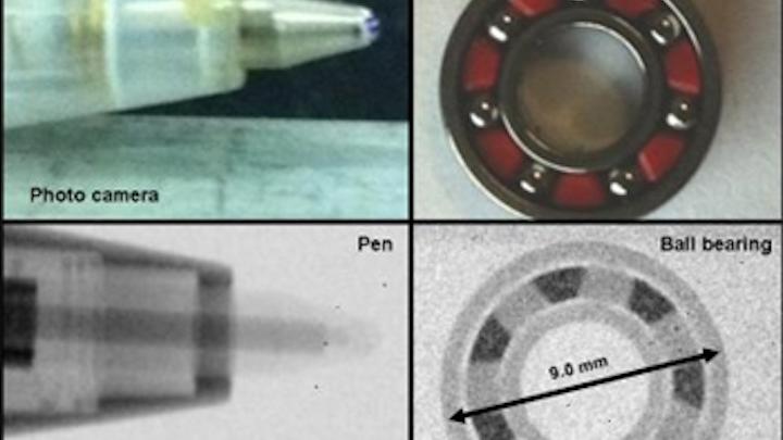 Neutron imager under development in the UK