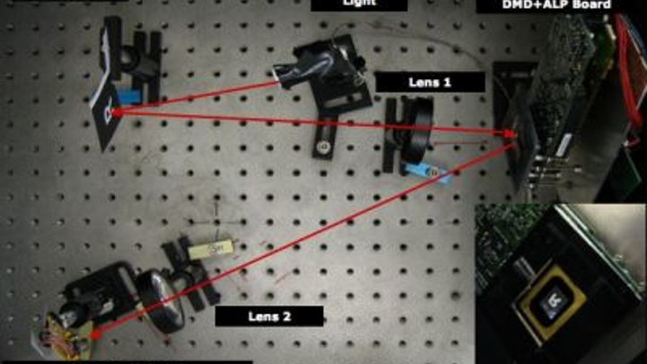 Researchers at Rice University have been granted a US patent for their work developing a camera based on compressive sensing.